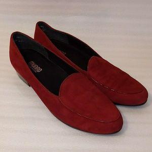 Munro shoes burgundy size 10